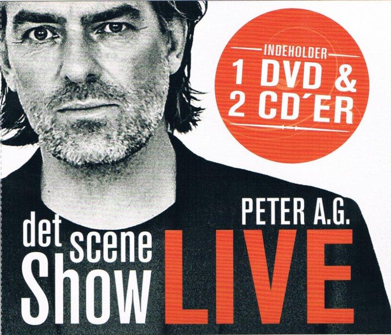 Peter A.g - Det Scene Show - Live (cd+dvd) - CD