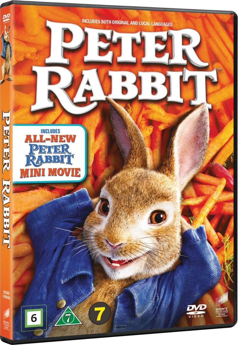 Billede af Peter Kanin / Peter Rabbit - 2018 - DVD - Film