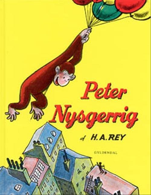Image of   Peter Nysgerrig - H. A. Rey - Bog