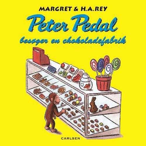 Image of   Peter Pedal Besøger En Chokoladefabrik - Margret Rey - Bog