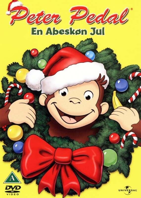 Image of   Peter Pedal - Hav En Abeskøn Jul - DVD - Film