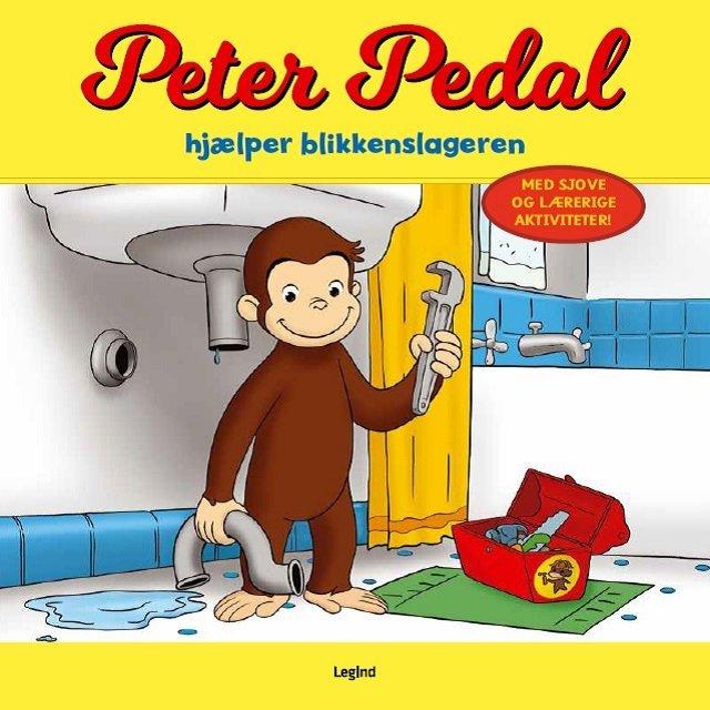 Image of   Peter Pedal Hjælper Blikkenslageren - Diverse - Bog