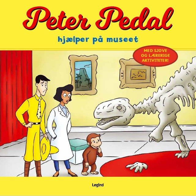 Image of   Peter Pedal Hjælper På Museet - Anna Meier - Bog