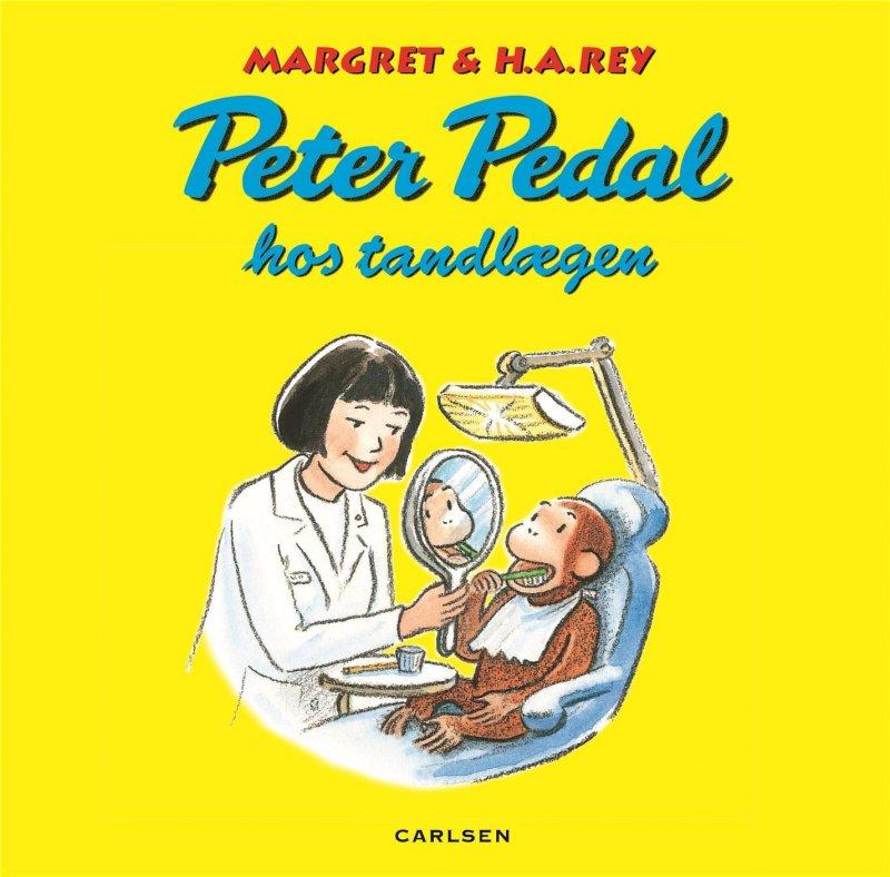Image of   Peter Pedal Hos Tandlægen - Margret Rey - Bog
