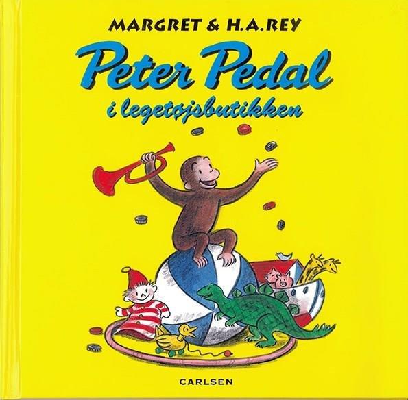 Image of   Peter Pedal I Legetøjsbutikken - Margret Rey - Bog