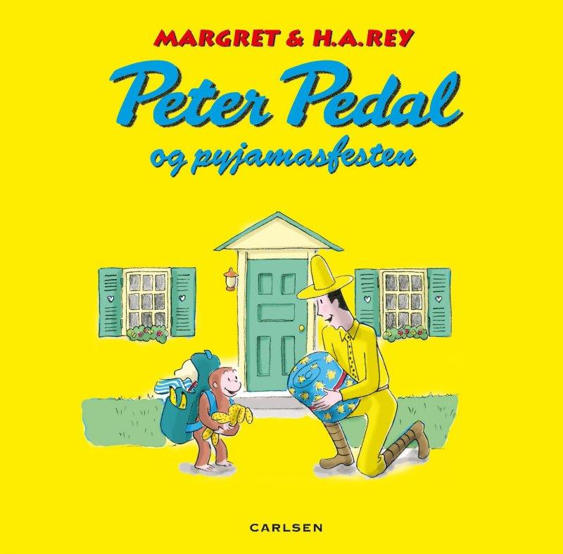 Image of   Peter Pedal Og Pyjamasfesten - Margret Rey - Bog