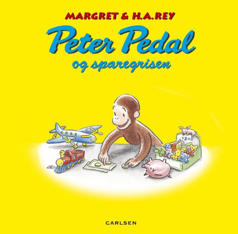 Image of   Peter Pedal Og Sparegrisen - Margret Rey - Bog
