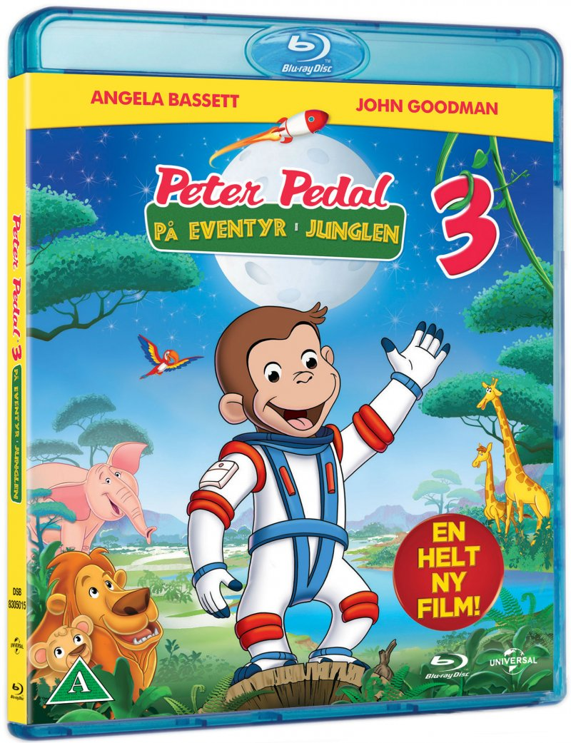 Image of   Peter Pedal 3 - På Eventyr I Junglen - Blu-Ray