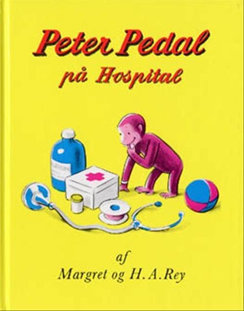 Image of   Peter Pedal På Hospital - Margret Rey - Bog