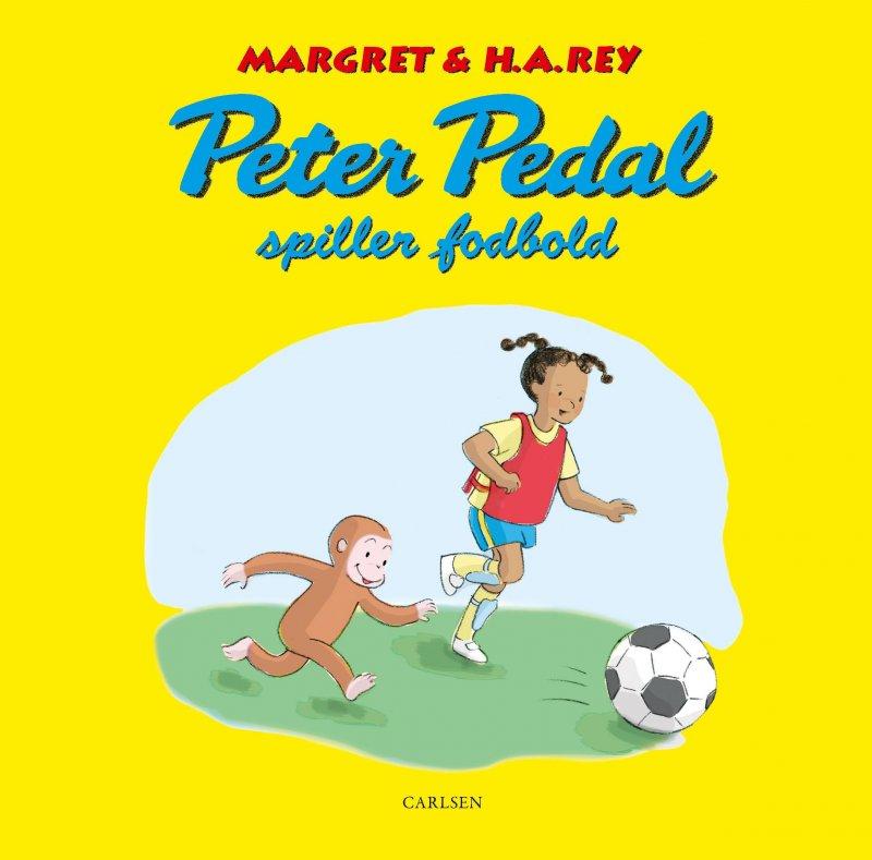 Image of   Peter Pedal Spiller Fodbold - H.a. Rey - Bog