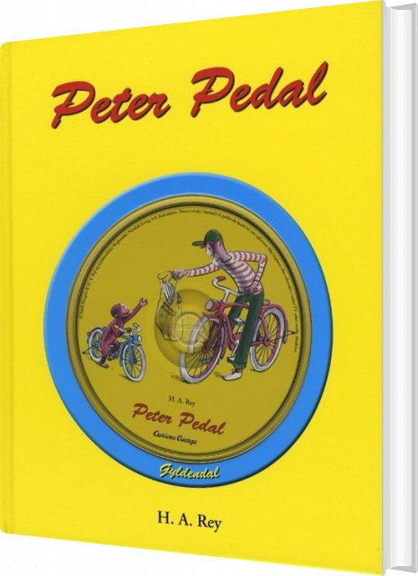 Image of   Peter Pedal - H.a. Rey - Bog