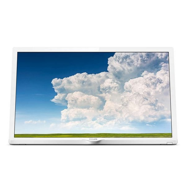 "Image of   Philips 24"" Tv 24phs4354 - Hd-ready Led - Hvid"