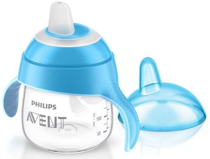 Image of   Philips Avent - Babykop Med Drikketud - 200ml - Blå