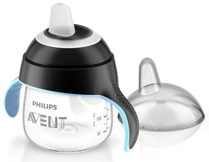 Image of   Philips Avent - Babykop Med Drikketud - 200ml - Sort