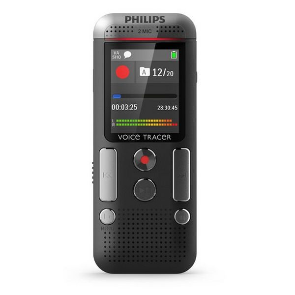 Image of   Philips Diktafon Lydoptager Dtv2500