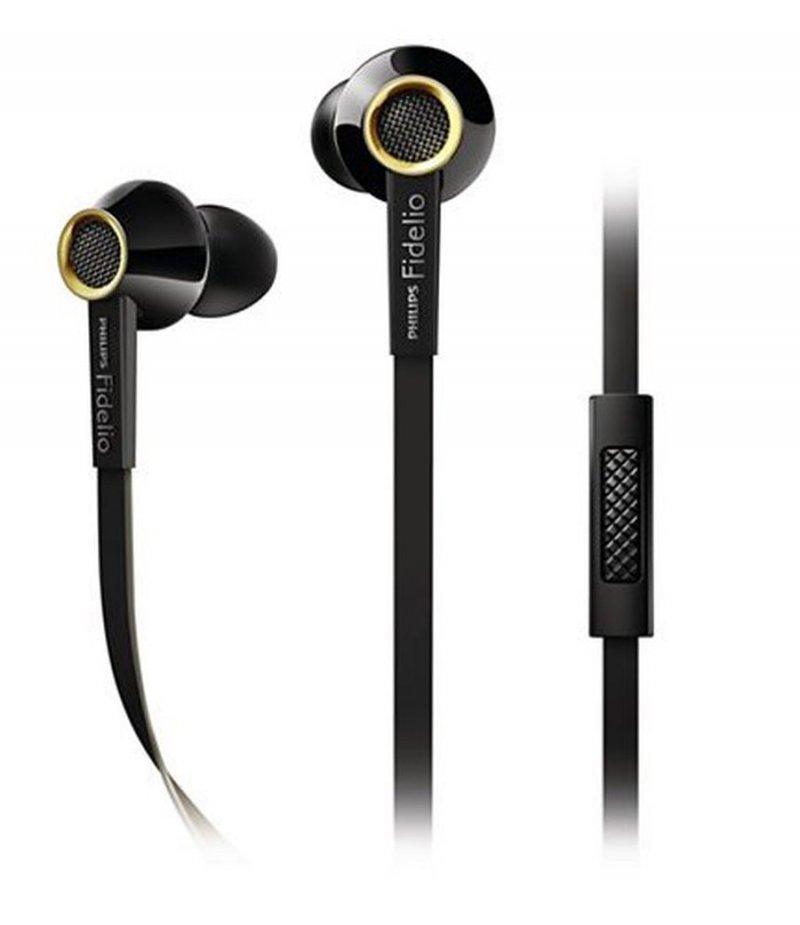 Billede af Philips Fidelio S2 High Fidelity In Ear Høretelefoner / Hovedtelefoner - Sort