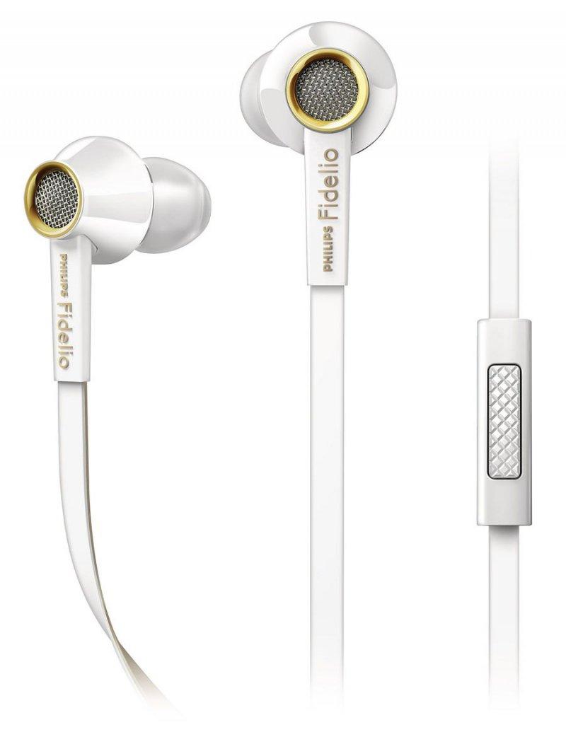 Billede af Philips Fidelio S2 High Fidelity In Ear Høretelefoner / Hovedtelefoner - Hvid