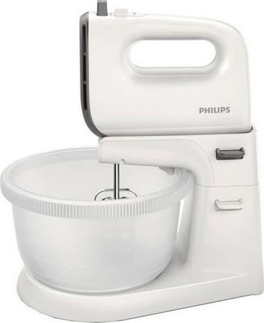 Billede af Philips Håndmikser Og Røremaskine Til Dej - 3l 450w - Hr3745/00 - Hvid