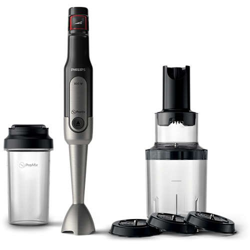 Image of   Philips Stavblender Sæt - Avance Collection - 800w Hr2656/90