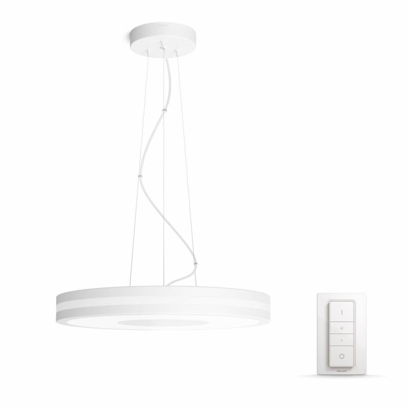 Image of   Philips Hue - White Ambiance - Being Pendant Lampe Hvid - Inkl. Lysdæmper
