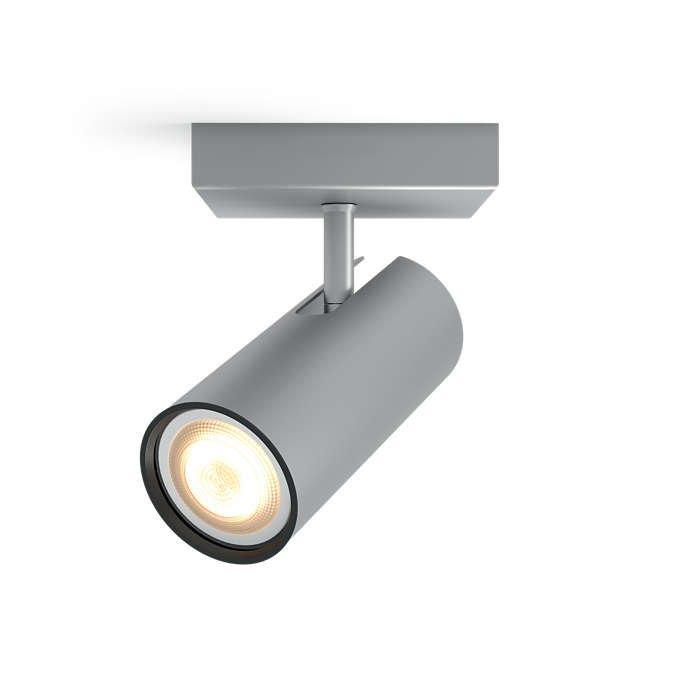 Image of   Philips Hue - Buratto 1 Spotlys Uden Fjernbetjening - Aluminium
