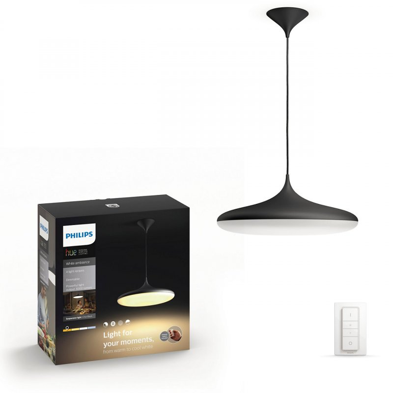 Image of   Philips Hue - White Ambiance - Connected Cher Pendel Lampe