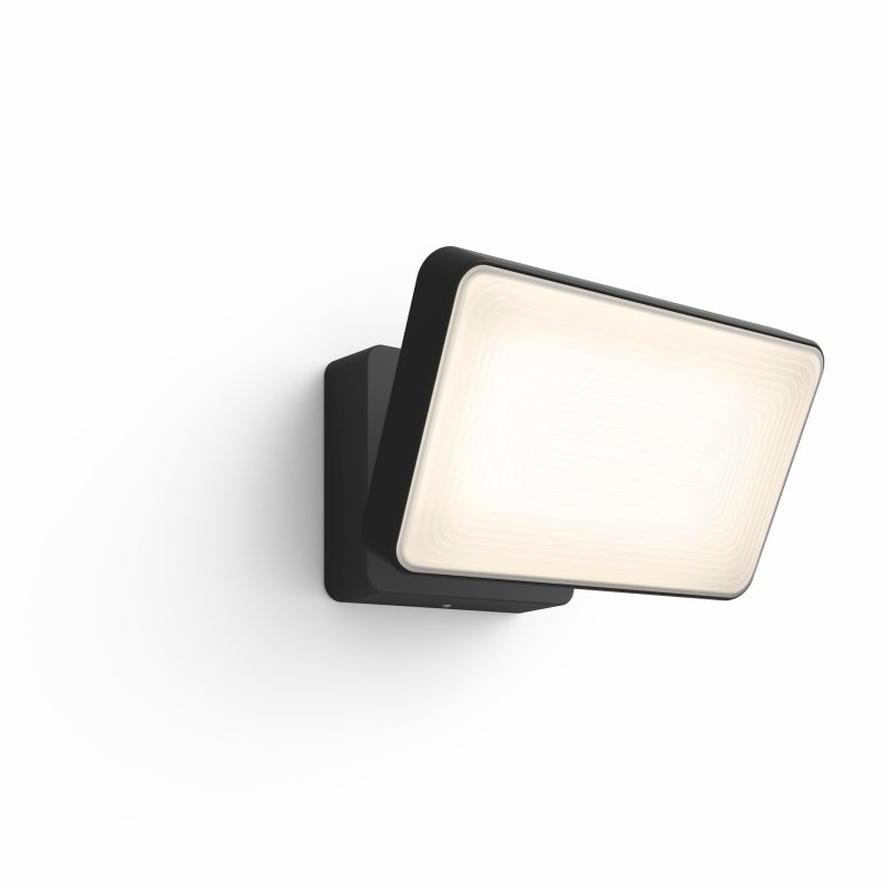 Image of   Philips Hue - White And Color Ambiance - Floodlight Discover Led Projektør - Sort