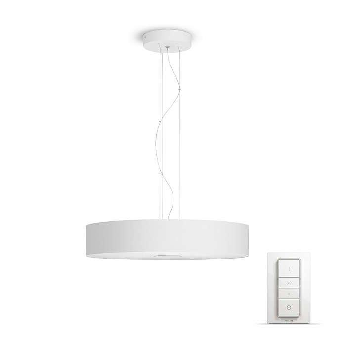 Image of   Philips Hue - White Ambiance - Fair Pendel Loftslampe - Hvid