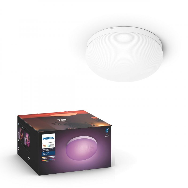 Image of   Philips Hue - White And Color Ambiance - Flourish Led Loftslampe Med Bluetooth