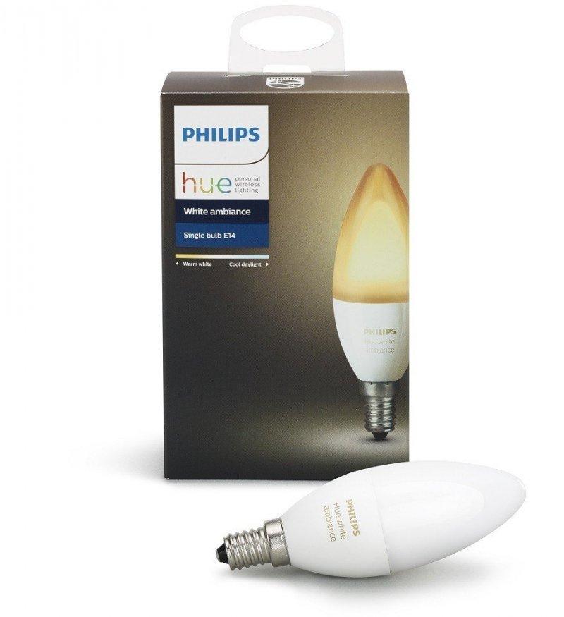 Image of   Philips Hue Pære E14 - White Ambiance