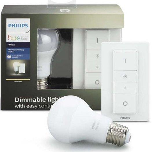 d54563407a7 Philips Hue - White Ambiance - E27 Pære Og Trådløs Lysdæmper Sæt