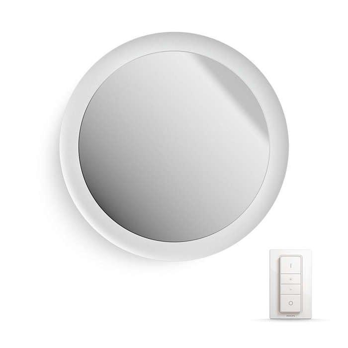 Image of   Philips Hue - White Ambiance - Adore Badeværelsesspejl Med Lys