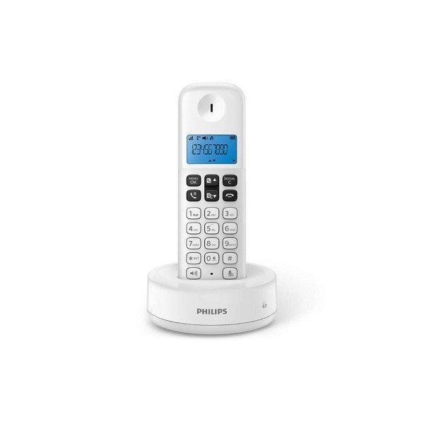 Image of   Philips - Trådløs Fastnettelefon - D1611 - Hvid