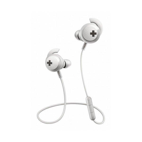 Billede af Philips - Trådløs Sports Høretelefoner Med Bluetooth - Shb-4305/00 - Hvid