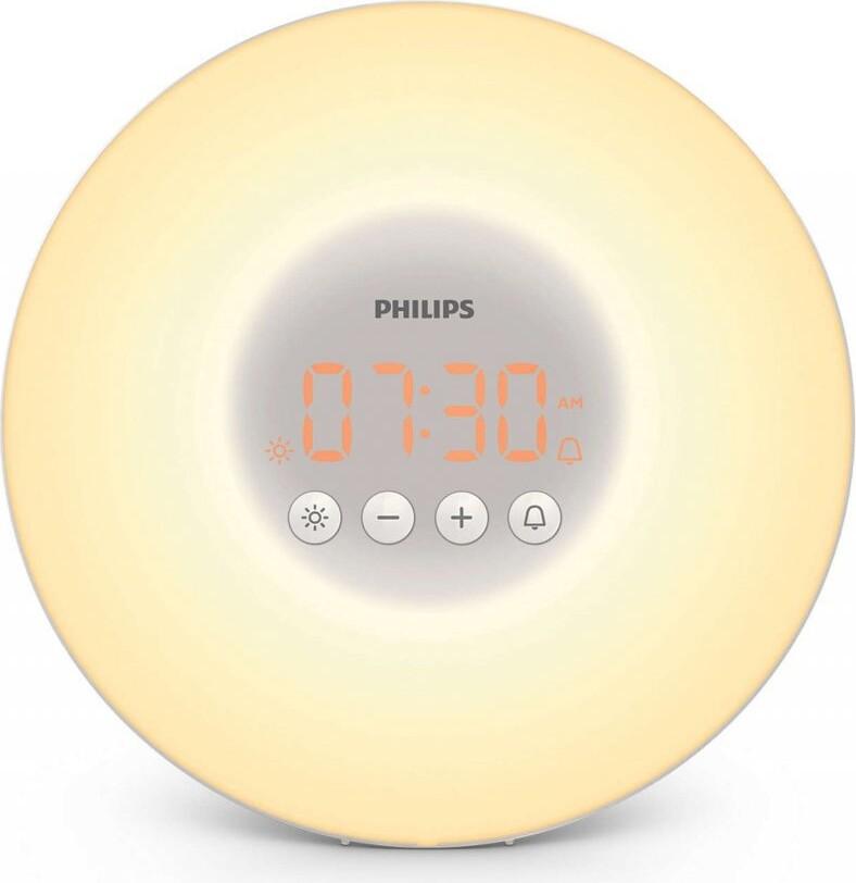 Philips Wake Up Light - Vækkeur Med Lysterapilampe - Hf3500/01