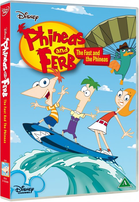 Phineas & Ferb: The Fast And The Phineas - Disney - DVD - Film