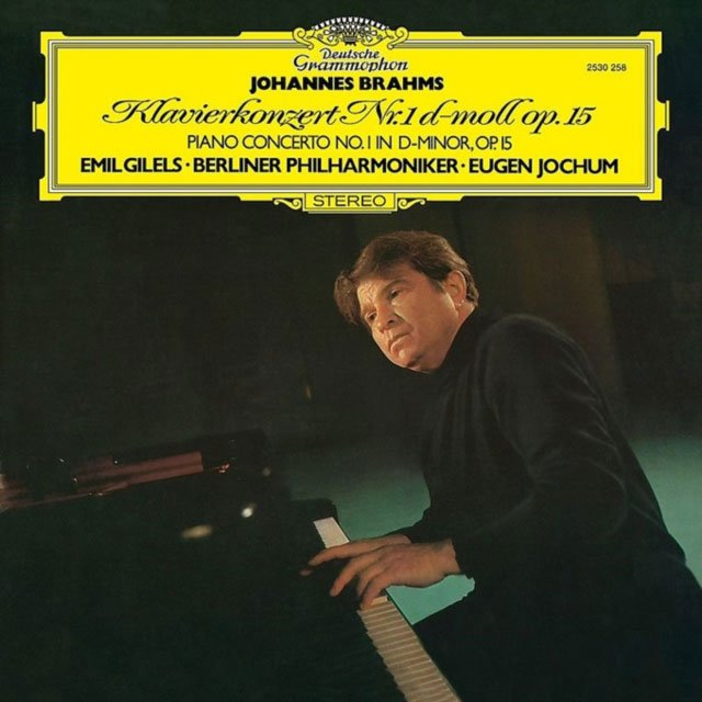 Image of   Johannes Brahms - Piano Concerto No. 1 - Vinyl / LP