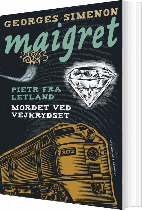 Pietr Fra Letland. Mordet Ved Vejkrydset - Georges Simenon - Bog