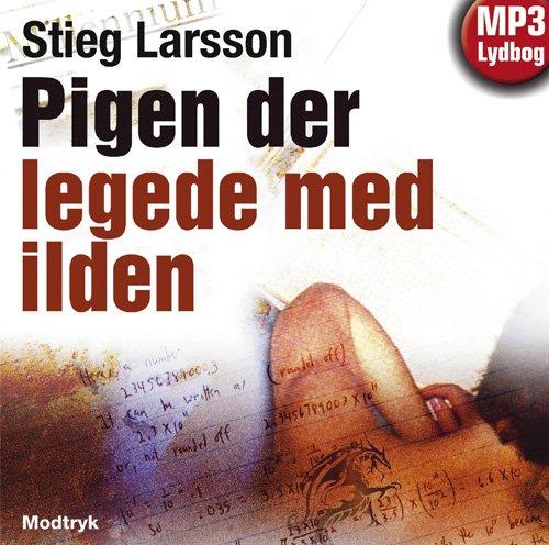 Image of   Pigen Der Legede Med Ilden - Stieg Larsson - Cd Lydbog