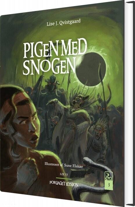Pigen Med Snogen 3 - Lise J. Qvistgaard - Bog