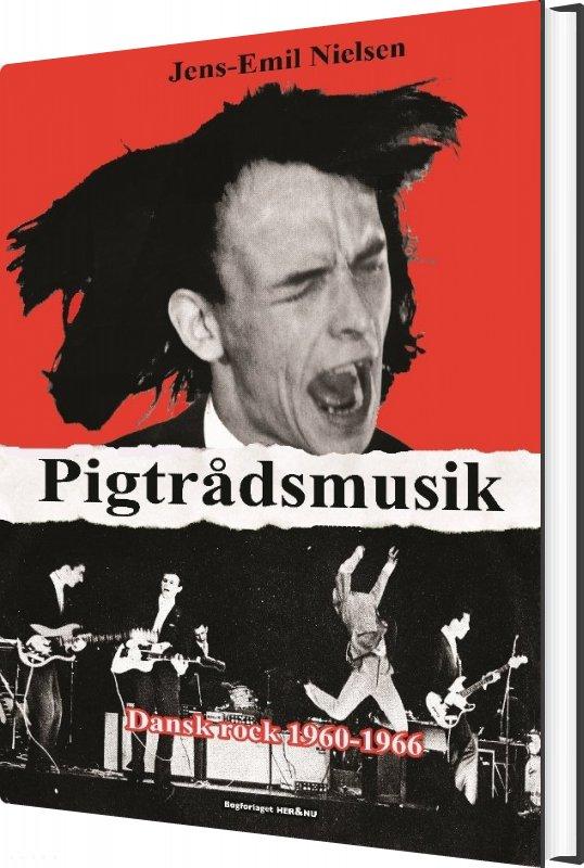 Billede af Pigtrådsmusik - Jens-emil Nielsen - Bog