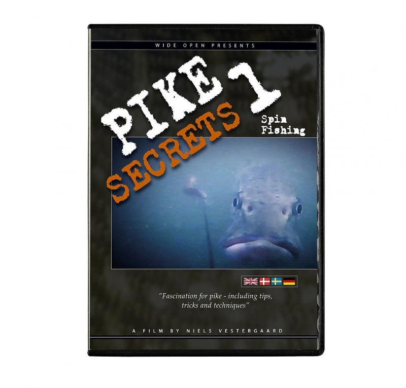 Image of   Pike Secrets 1 Spin Fishing - DVD - Film