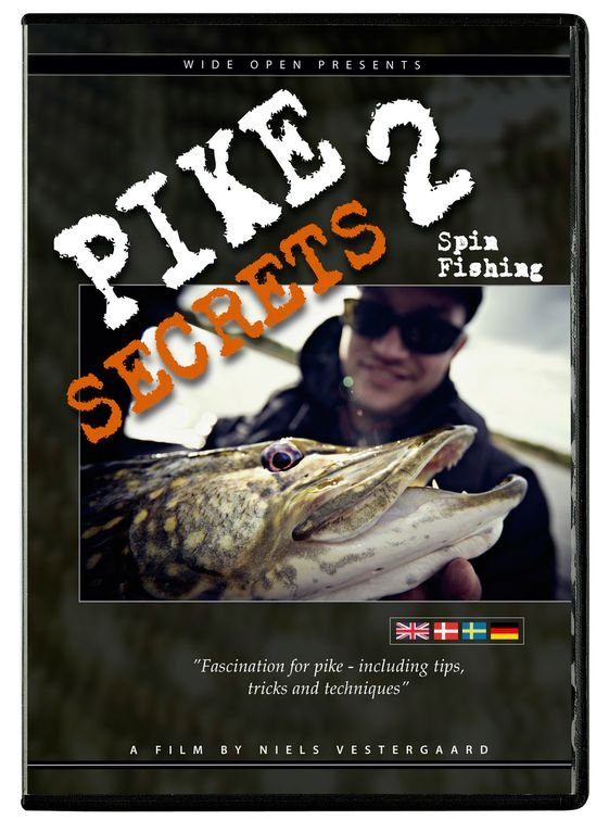 Image of   Pike Secrets 2 Spin Fishing - DVD - Film