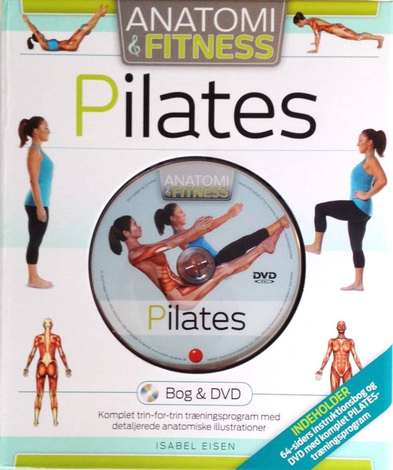 Image of   Pilates - Anatomi Og Fitness - Diverse - Bog