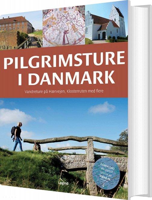 Billede af Pilgrimsture I Danmark - Jørgen Hansen - Bog