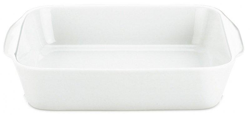 Image of   Pillivuyt Kvadratfad Nr 3 - 22 Cm. I Hvid