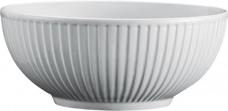 Image of   Pillivuyt Plissé Skål I Grå - ø15 Cm.