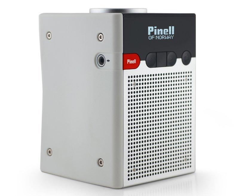 Pinell Go - Dab+ Radio - Hvid