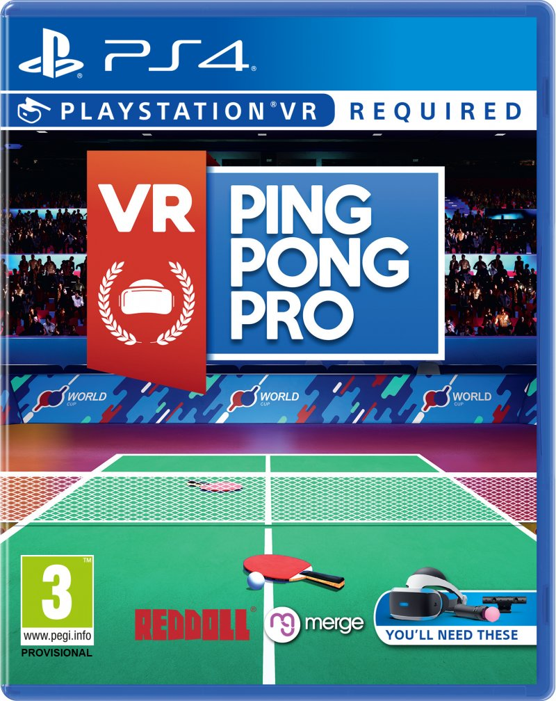 Image of   Ping Pong Pro (vr) - PS4