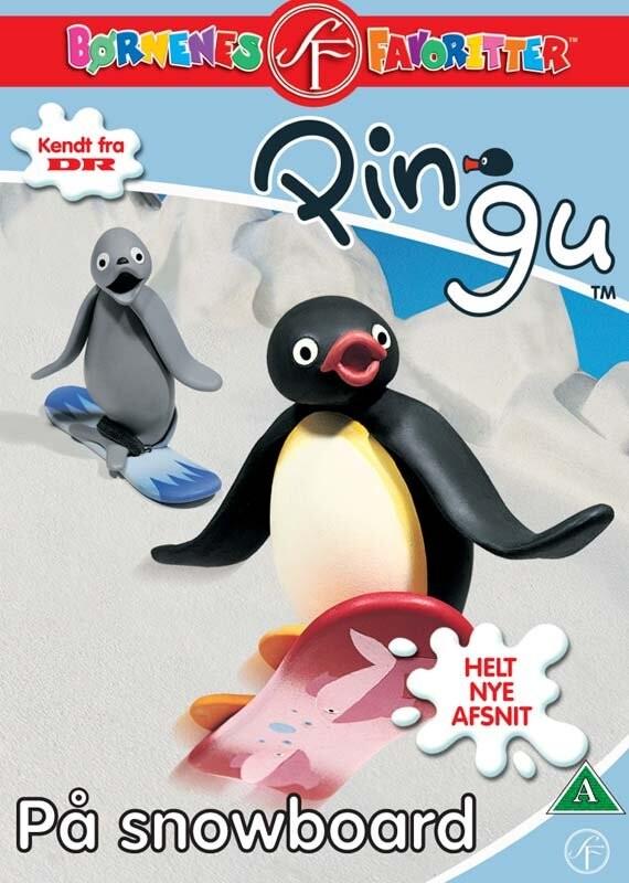 Image of   Pingu 4 - På Snowboard - DVD - Film